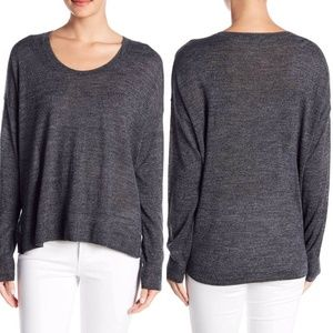 Madewell Grey Southstar Wool Pullover Sweater